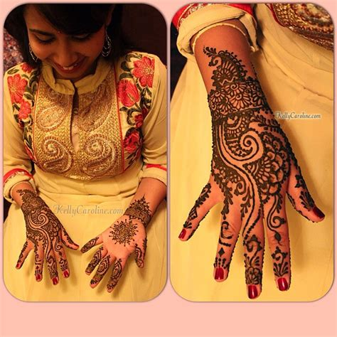 an elegant and traditional mehndi party for a lovely