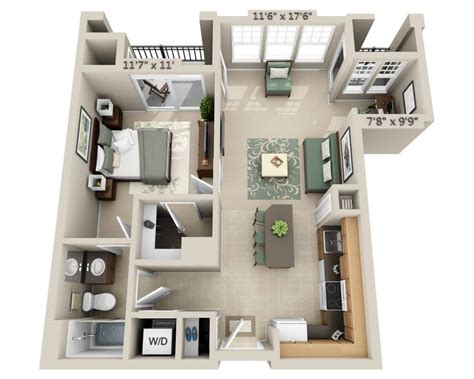 one bedroom apartments with den floor plans and pricing for signal hill woodbridge