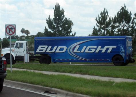 Bud Light Truck Formerwmdriver Flickr