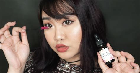 W Ii Amino Serum Penebal Bulu Alis Mata Alami Asli Ez Shop 7 my sugarcoffee review pulchra s oillash lash brow serum
