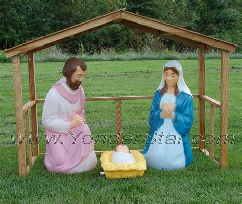 search results for outdoor christmas manger scene