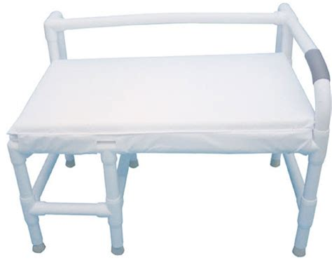 padded bath bench bariatric padded non slip bath bench