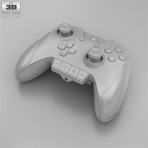 Razer Wildcat For Xbox One Gaming Controller razer wildcat gaming controller for xbox one 3d model hum3d