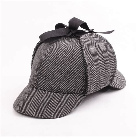 How To Make A Sherlock Hat Out Of Paper - hotselling sherlock detective baseball hat vintage