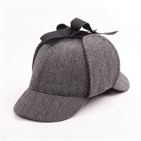 hotselling sherlock detective baseball hat vintage