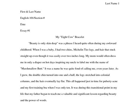 contoh biography and autobiography how to format write your narrative essay