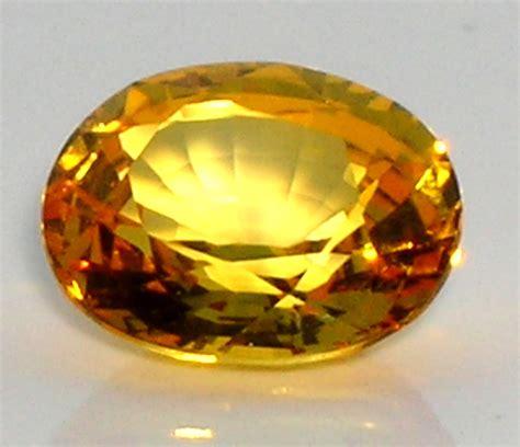 certfied ceylon yellow sapphire pukhraj