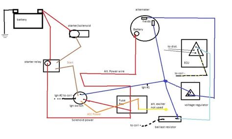 alternator exciter wiring diagram wiring diagram manual