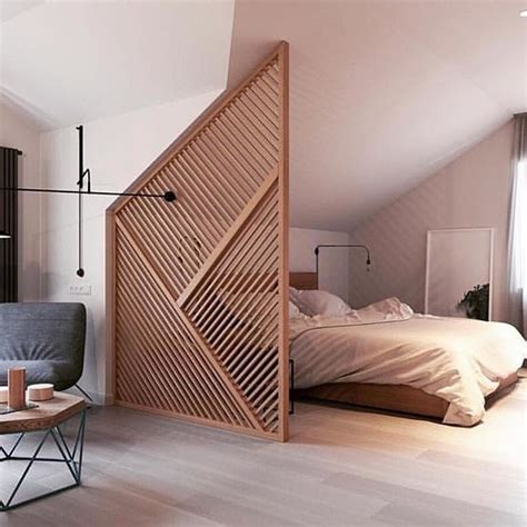 bedroom divider best 25 wood partition ideas on pinterest bedroom
