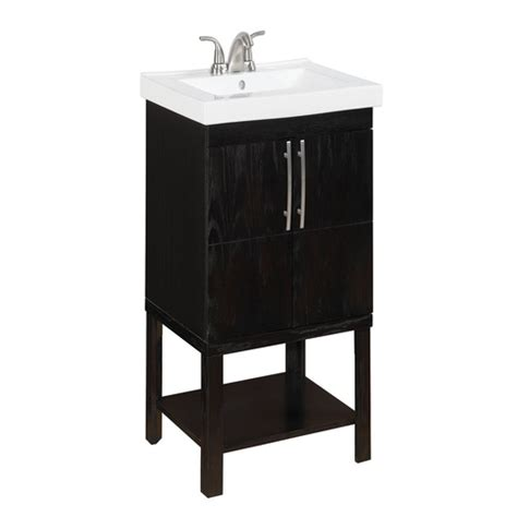Allen Roth Vanity Combo by Allen Roth Oak Foley Bath Vanity From Lowes