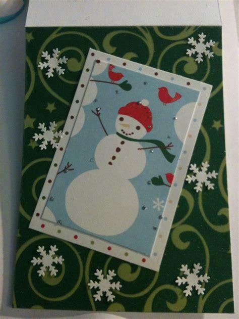 Handmade Snowman Cards - handmade snowman cards www imgkid the