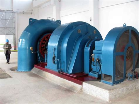hydro turbine generator unit from shaoyang hengyuan