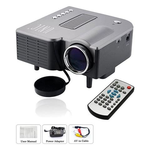 Mini Projector Uc28 Buy Unic Uc28 Mini Led Cinema Projector At Best Price In India On Naaptol
