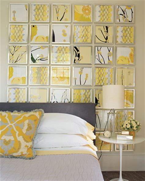 yellow grey light gray and yellow color scheme calm fall decorating ideas