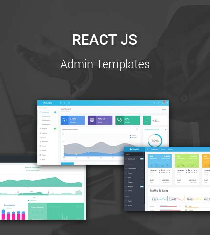 8 Best Reactjs Admin Templates For Your Next Project Azmind React Web Page Template