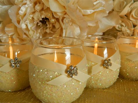 wedding centerpiece ideas using candles diy candle holders wedding