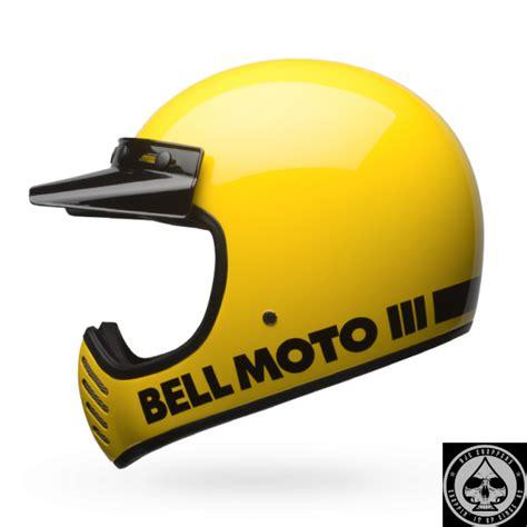 Bell L by Bell Moto 3 Helmet Classic Yellow Oldschool Chopper