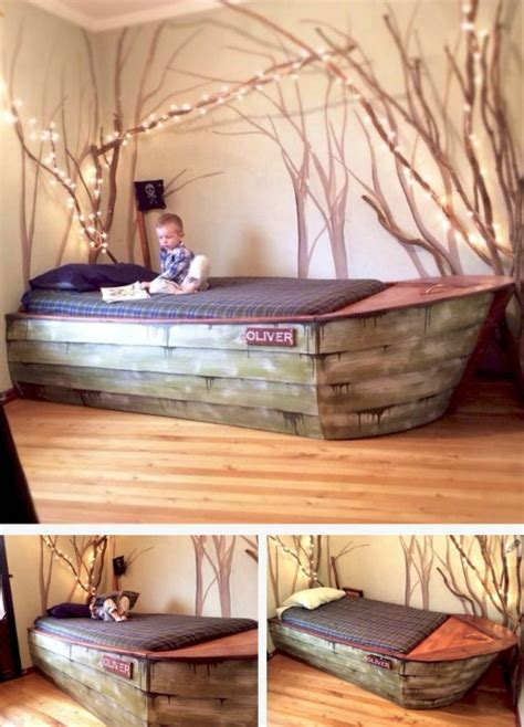 full size boat bed 21 diy bed frame projects sleep in style and comfort