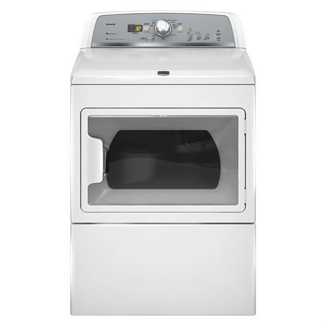 maytag medx700xw 7 4 cu ft electric dryer white sears outlet