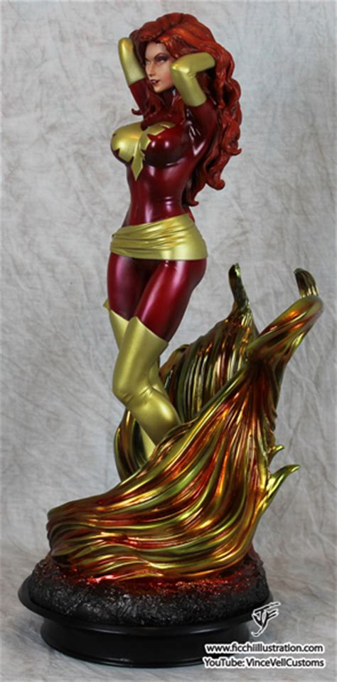 Statue Pf Sideshow Phonix Exc custom statue from sideshow poison statue forum