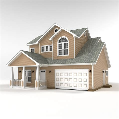 home design 3d two storey 3d two story cottage model