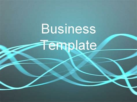Light Streaks Business Template Light Template