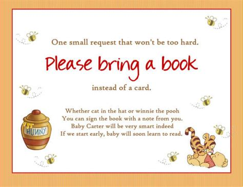 baby shower invitation book poem bring a baby shower book poem for the to be baby