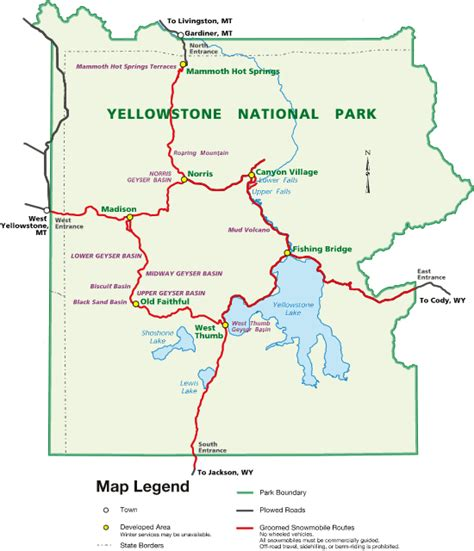 seattle to west yellowstone map new york to california and back day 6 path path are
