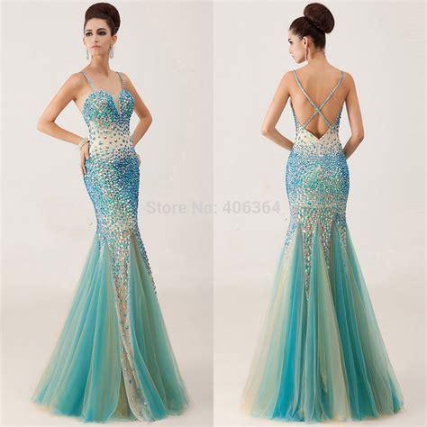 Dedigner Paety Dress Bangetttt Bun exquisite new design sweetheart beaded with spaghetti tulle mermaid prom dresses