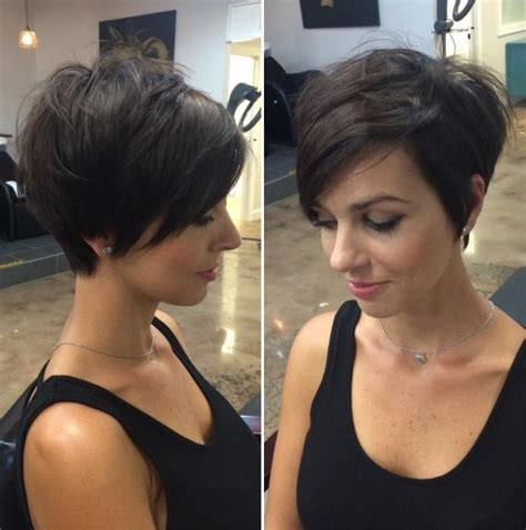 short hair volume on top longer in frint 70 cute and easy to style short layered hairstyles