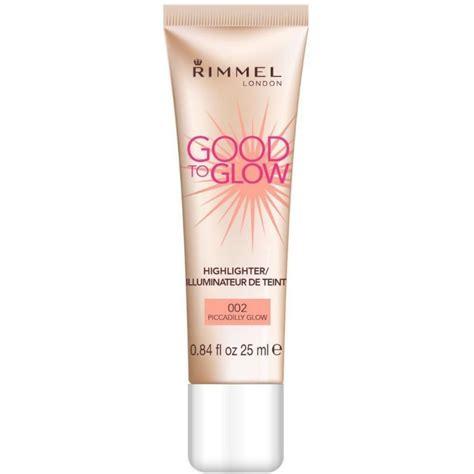 Rimmel To Glow by Rimmel To Glow 002 Piccadilly Glow 25 Ml 2 95 Eur