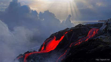 volcano eruption wallpaper  background wallpaper hd