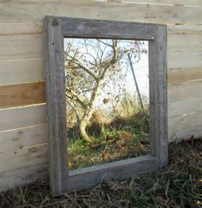 Bathroom Mirrors Reclaimed Wood Reclaimed Wood Mirror Rustic Lodge Decor Bathroom Mirrors
