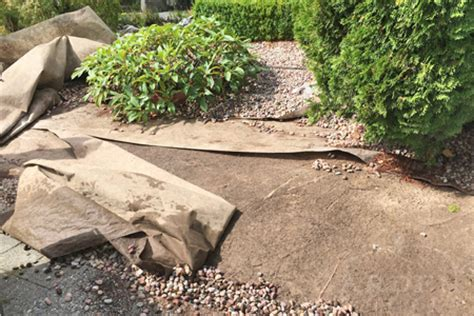 Landscape Fabric Right Side Up Choosing Your Garden Gravel Garden Mentors