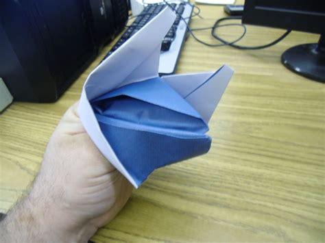 Fox Puppet Origami - origami fox puppet omaha maker