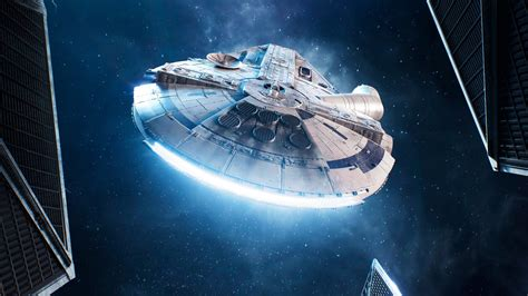 millennium falcon wallpapers hd wallpapers id