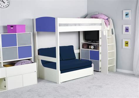 table with bed underneath bed with sofa underneath bunk bed with table underneath