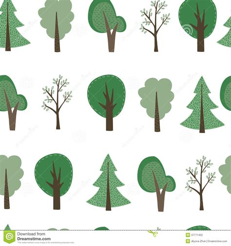wallpaper cartoon tree cartoon trees background stock vector illustration of