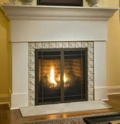 gas fireplace makeover after photo traditional