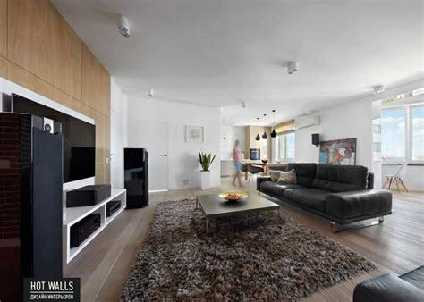 studio apartment wohnzimmer ideen einrichtungsbeispiele vom russischen designstudio walls