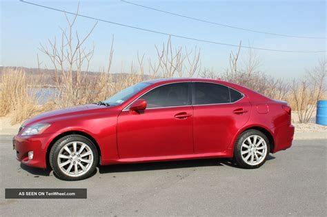 2007 lexus is 250 4dr sedan 2 5l v6 6a in austin tx 2007 lexus is250 awd sedan 4 door 2 5l dohc 24 valve