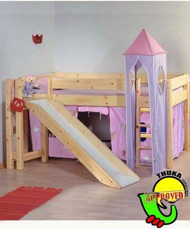 17 Best Images About Slide Bunk Beds On Pinterest Low Princess Bed With Slide