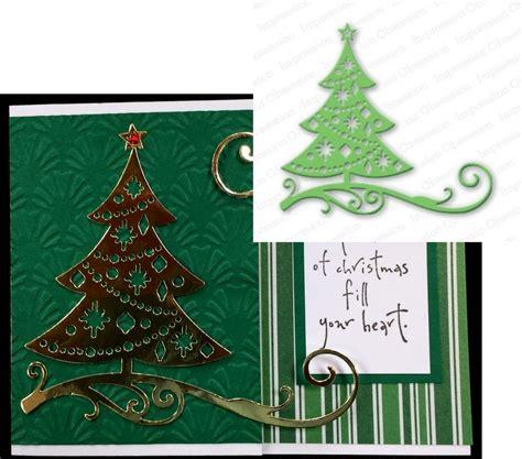 my christmas tree died cut out tree metal die impression obsession cutting dies die111 u ebay