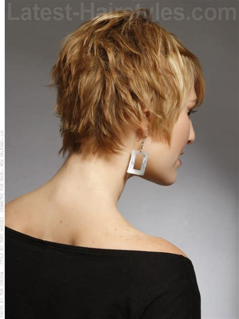 hairstyles seen from the back pixie haircut back view 20 really cute short haircuts