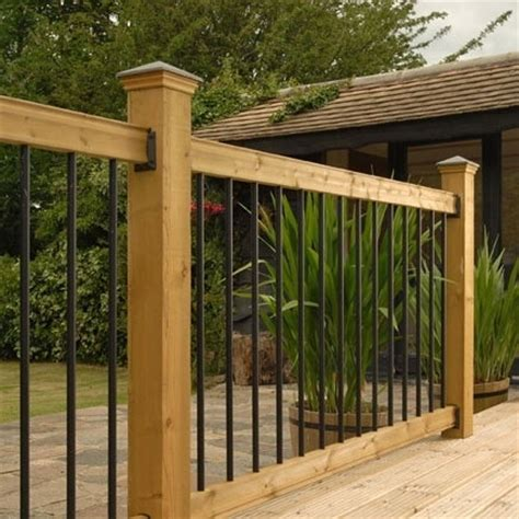 Wood Porch Railing Systems railsimple wood railing kits traditional series pine