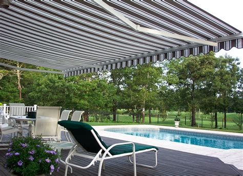 shady awnings retractable shade awnings landscaping network
