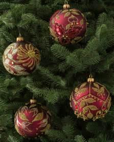 decorated glass ball ornament set balsam hill australia