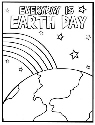 preschool coloring pages earth day free earth day coloring page for preschool preschool crafts