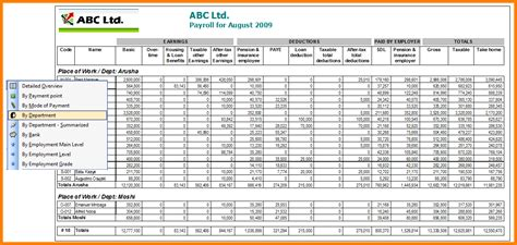 4 employee salary details format in excel cashier resumes