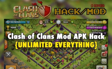 clash of clans mod hack game download download clash of clans mod apk hack latest version free